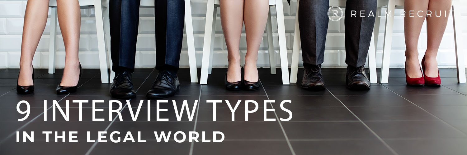 9 interview types in the legal world