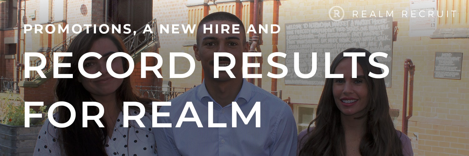 Record-breaking results and new hire for Realm