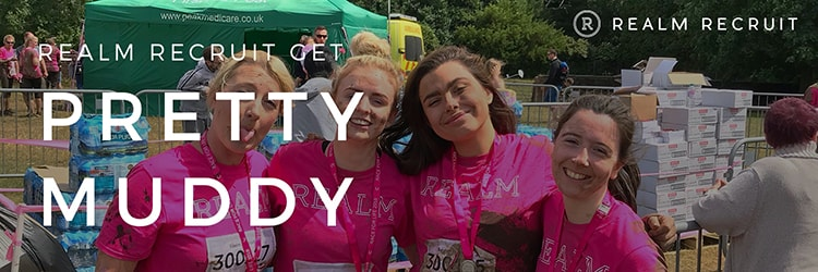 Realm Recruit get Pretty Muddy for Cancer Research