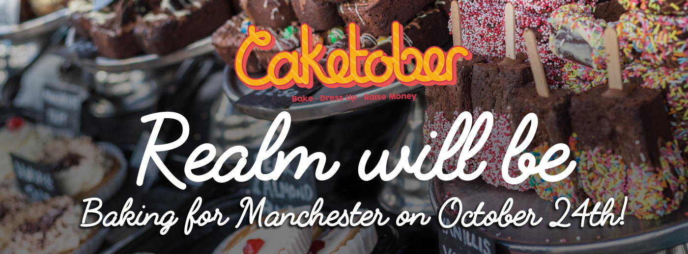Realm Bake For Caketober in Aid of Forever Manchester