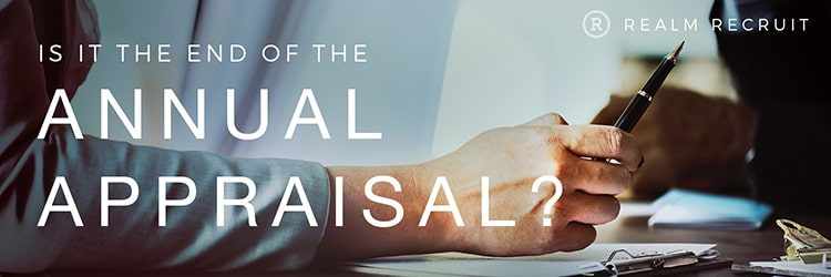 Is it the end of the annual appraisal?