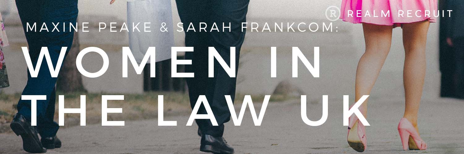 Women in the Law UK: In Conversation with Maxine Peake and Sarah Frankcom